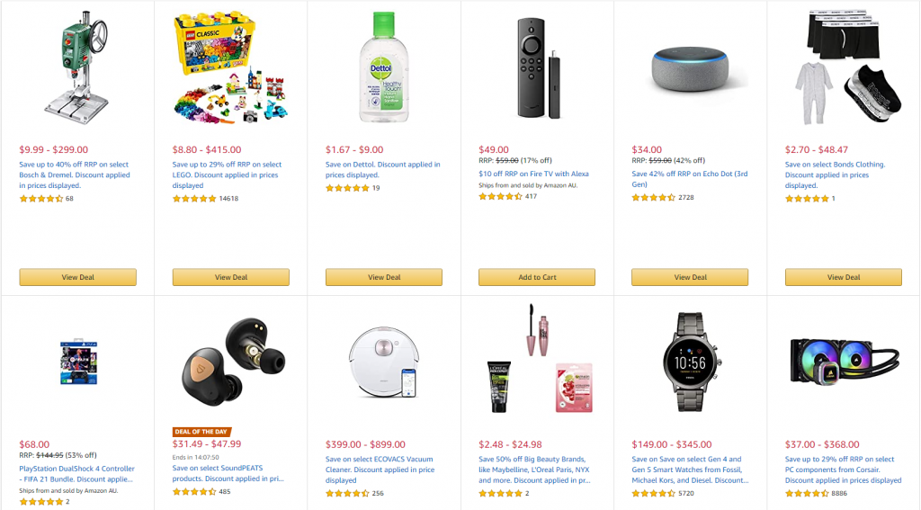Sales Coupons Deals Boxing Day Sales 2020 Amazon