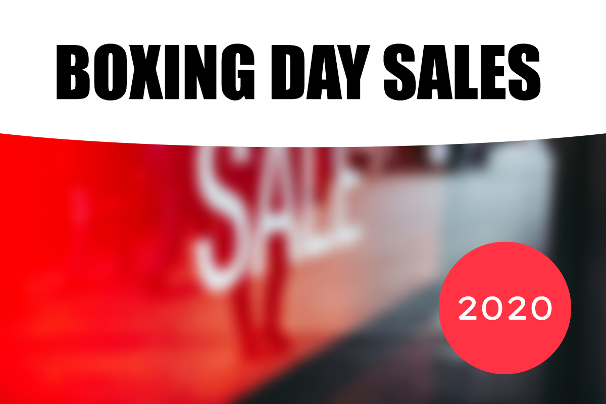 Boxing Day Sales 2020