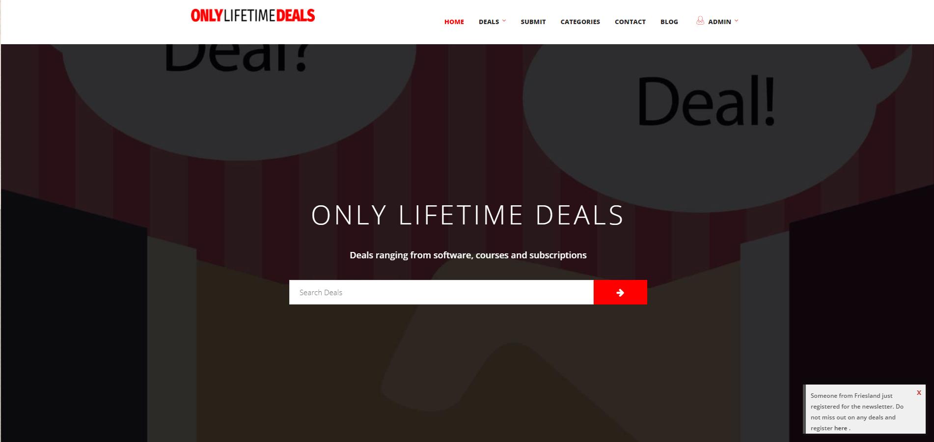 Software Only Lifetime Deals