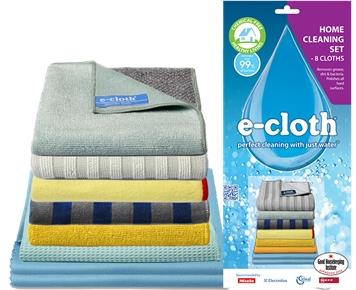 Ecloth Home Cleaning Set OF 8