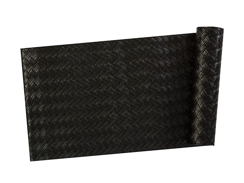 Maxwell & Williams Table Accents Leather Look Runner 30x150cm Black Plait