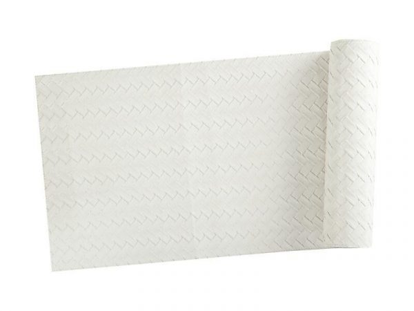 Kitchen Style - Maxwell & Williams Table Accents Leather Look Runner 30x150cm Ivory Plait - Table Linen