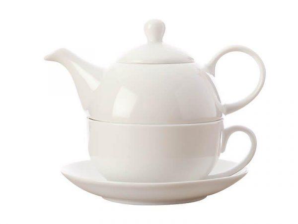 Kitchen Style - Maxwell & Williams White Tea for One 425ml GB - Kitchen Supplies
