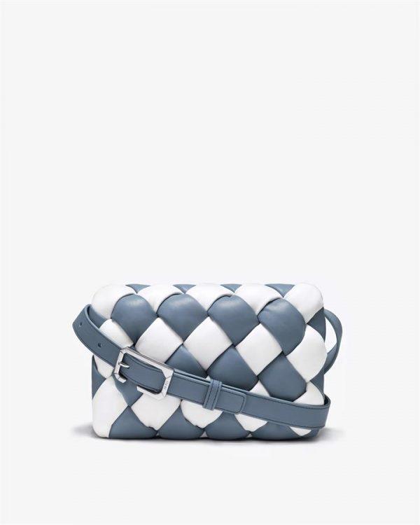 JW PEI - Maze Bag - White & Blue - Fashion Bag - Apparel & Accessories > Handbags