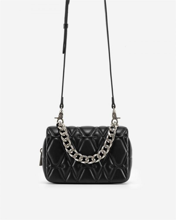 JW PEI - Nora Crossbody Bag - Black - Fashion Women Vegan Bag - Apparel & Accessories > Handbags