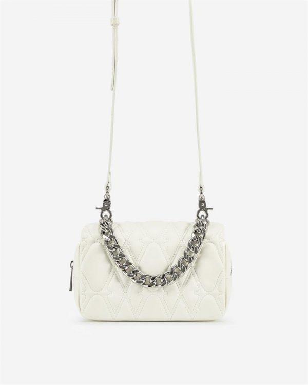 JW PEI - Nora Crossbody Bag - White - Fashion Women Vegan Bag - Apparel & Accessories > Handbags