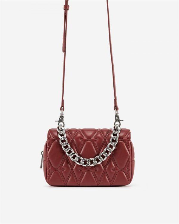 JW PEI - Nora Crossbody Bag - Wine Red - Fashion Women Vegan Bag - Apparel & Accessories > Handbags