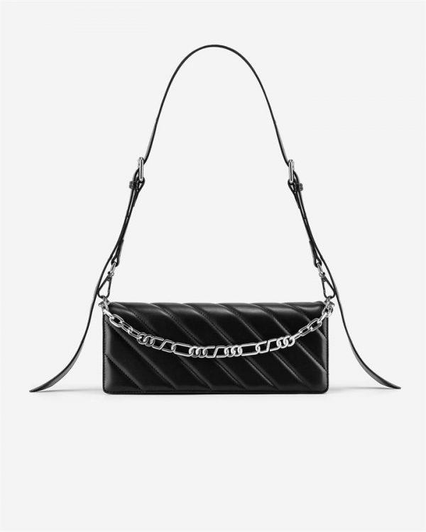 JW PEI - Sophie Crossbody Bag - Black - Apparel & Accessories > Handbags