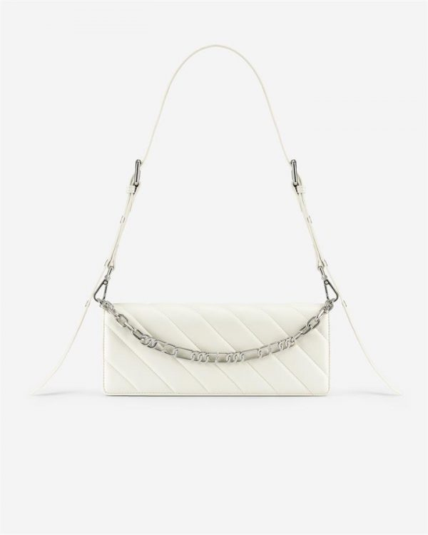 JW PEI - Sophie Crossbody Bag - White - Apparel & Accessories > Handbags