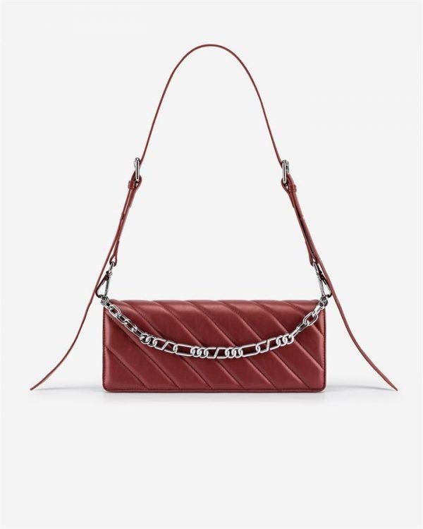 JW PEI - Sophie Crossbody Bag - Wine Red - Apparel & Accessories > Handbags