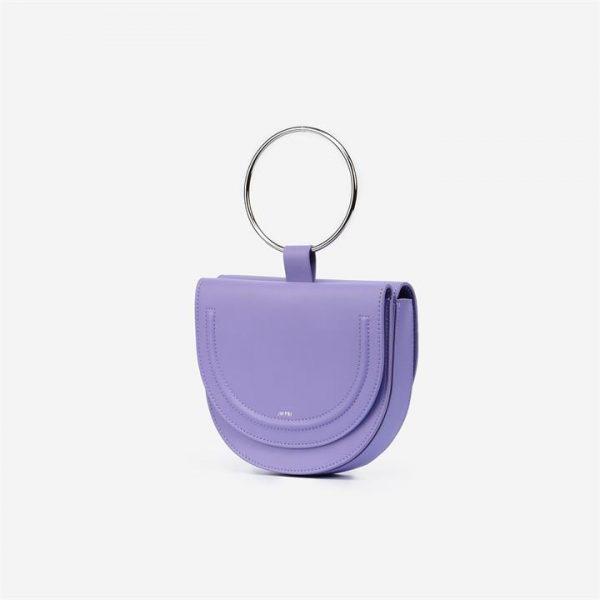 JW PEI - The Double Moon Crossbody - Violet - Apparel & Accessories > Handbags