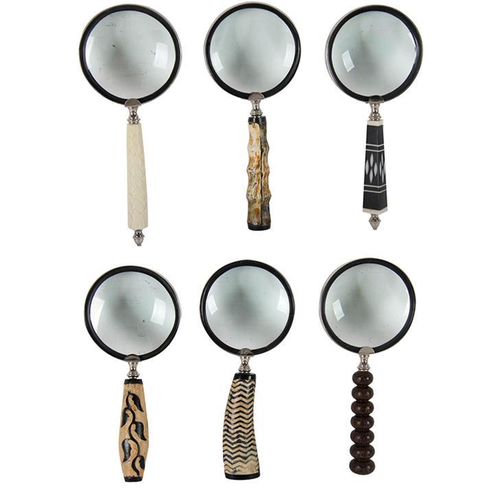 Albury 6 Piece Magnifying Glass Gift Set