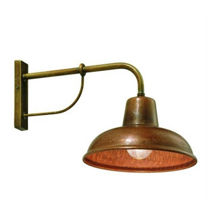 Bells Copper Wall Light