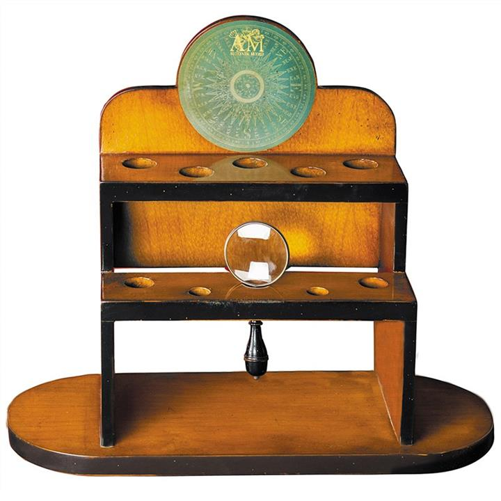 Bureau Solid Timber Magnifier Stand