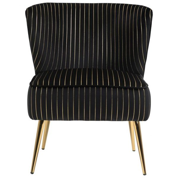 LivingStyles.com.au - Chloe Fabric Lounge Chair - Armless Lounges