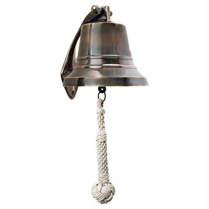 Coolidge Solid Brass Ships Bell – Large