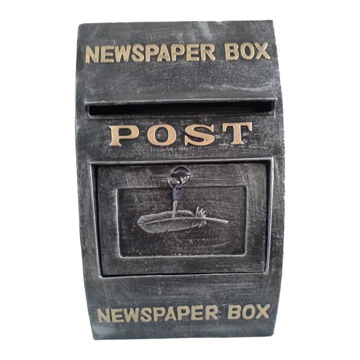 Denham Metal Wall Mount Letterbox