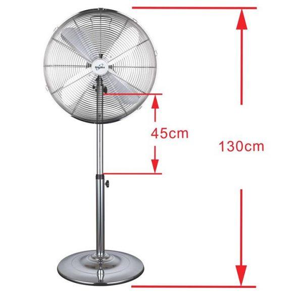 LivingStyles.com.au - Digilex FD45M Metal Pedestal Fan