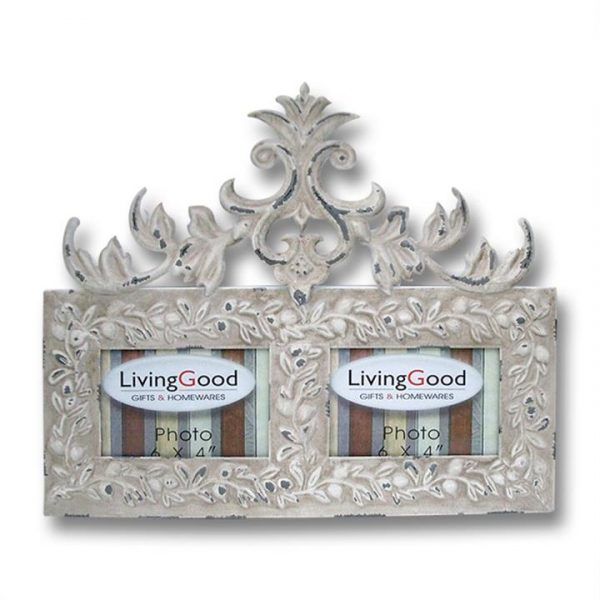 LivingStyles.com.au - Duo Husk 6'' x 4'' Photo Frame - Picture Frames