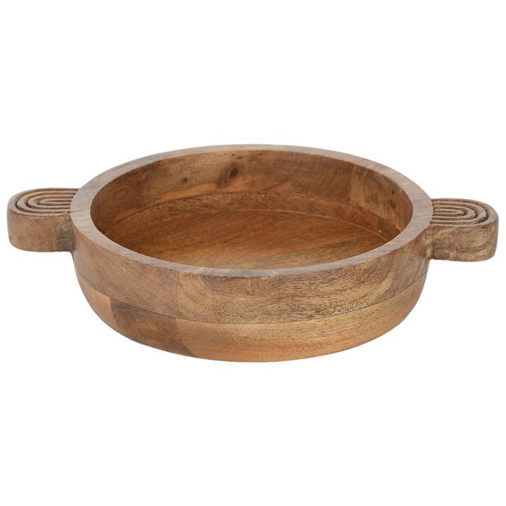 Frida Mango Wood Bowl with Handle