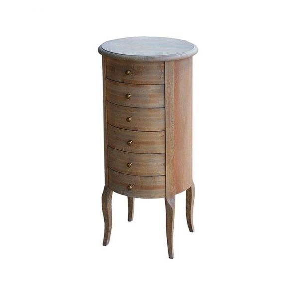 LivingStyles.com.au - Louis Chest with 6 Drawers - Tallboys