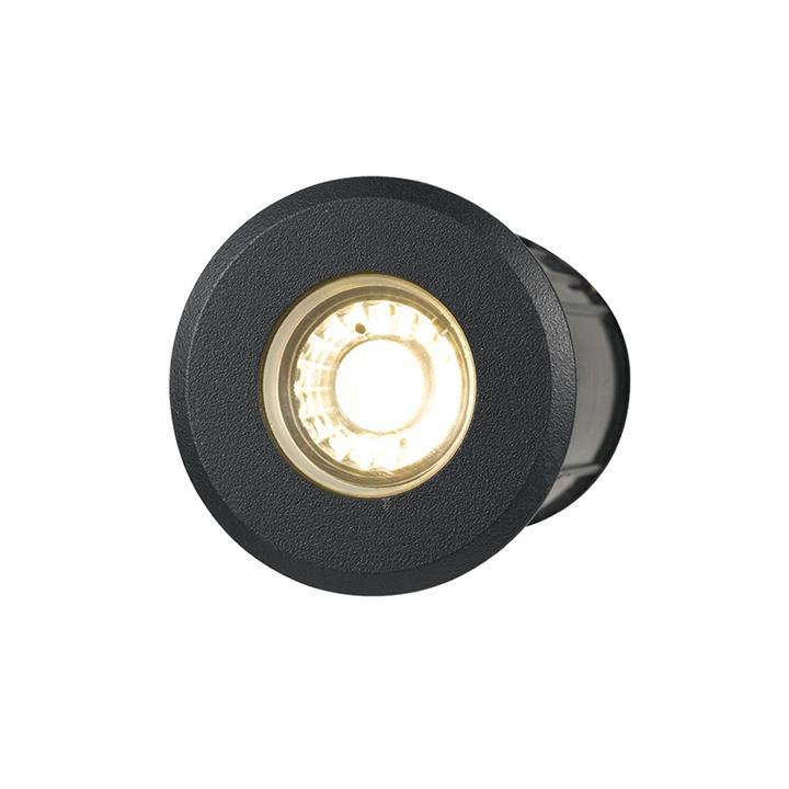 Luc IP65 Exterior LED Inground / Deck Light, 8W, 12V, Black