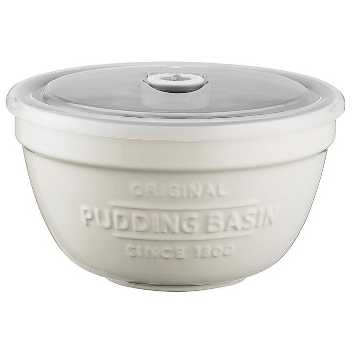 Mason Cash Ceramic Pudding Basin with Lid