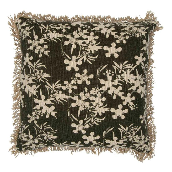 Myrtle Feather Filled Scatter Cushion, Olive