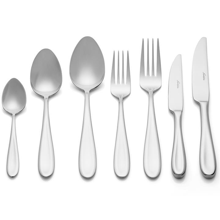 Noritake Espelette 56 Piece Stainless Steel Cutlery Set
