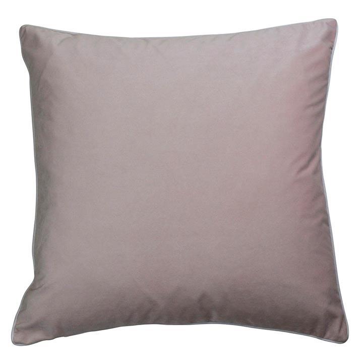 Rodeo Velvet Euro Cushion Cover, Blush