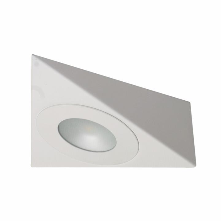 SAL Anova Surface Mount LED Cabinet Light, Triangle, 4W, 6000K, White