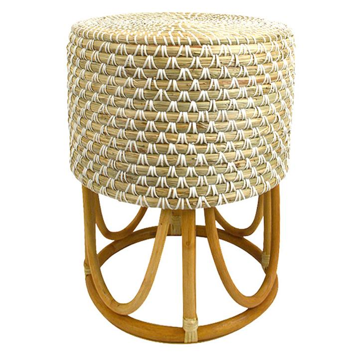 Sioux Seagrass Accent Stool
