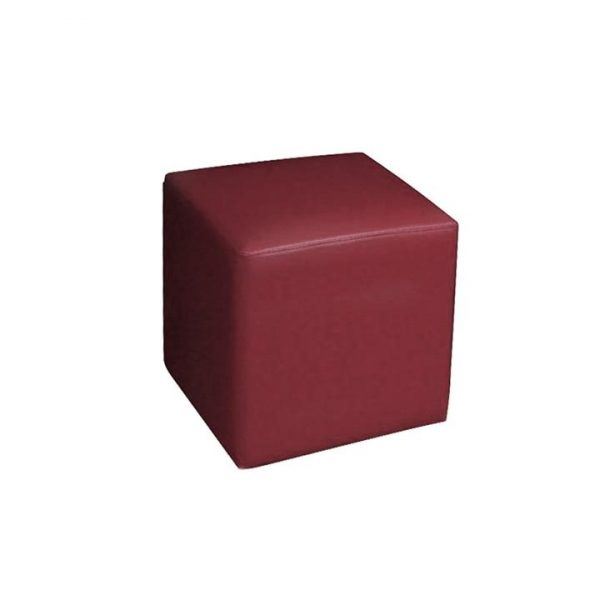 LivingStyles.com.au - Square Ottoman in Red - Ottomans & Benches