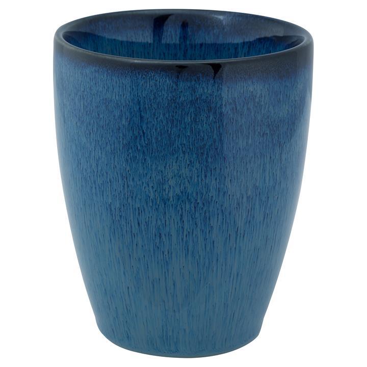 VTWonen Komi Porcelain XL Cuddle Mug, Dark Blue