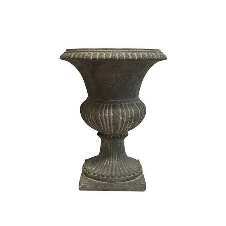 Valentia Stonecast Garden Urn, Small