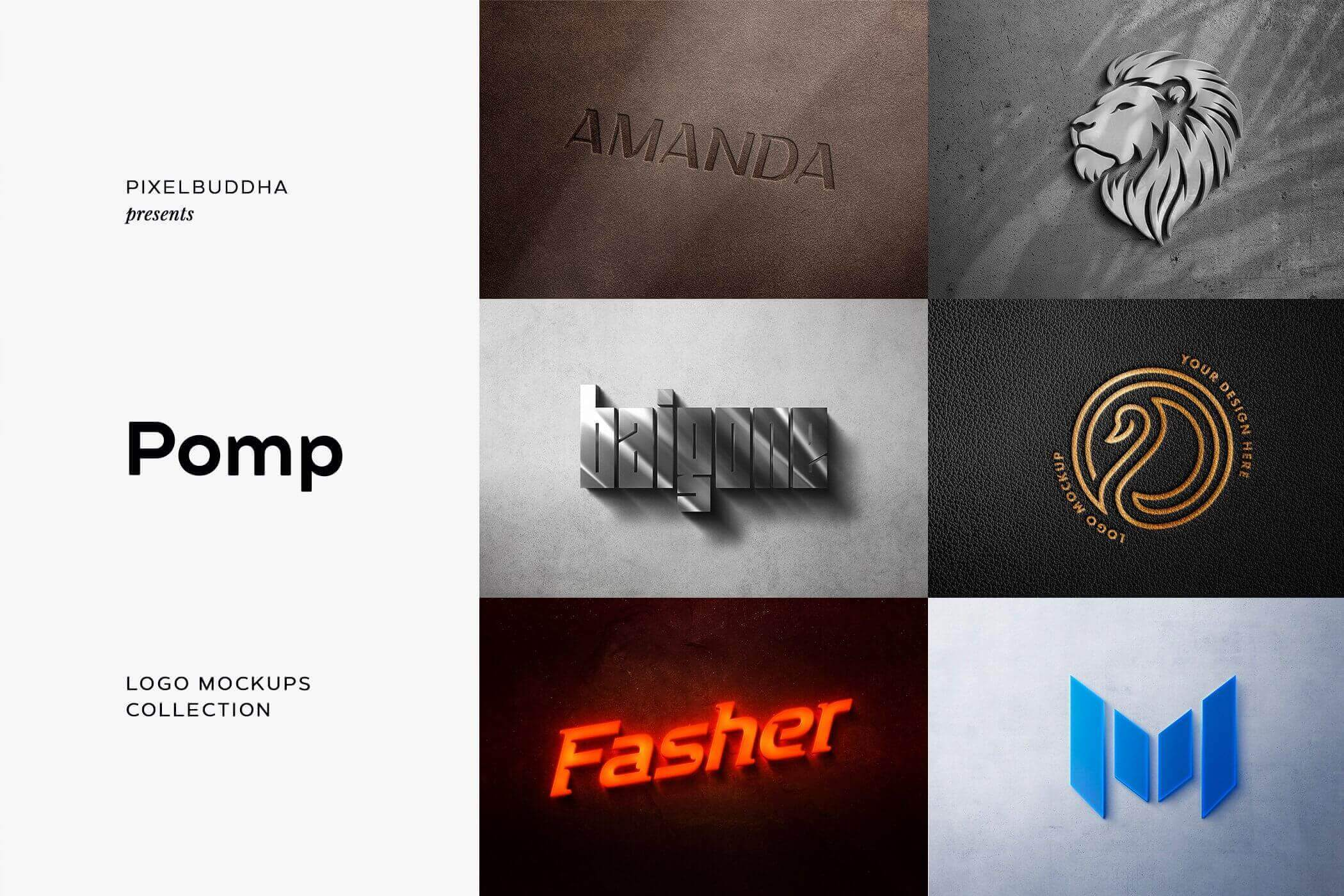 30 in 1 Branding Logo Mockup Collection – only $8!