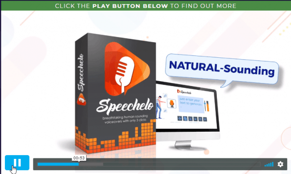 Sales Coupons Deals - Lifetime Deal to Speechelo for $47